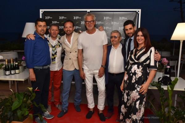 Juentus Club Menfi 10 Years con Tacconi